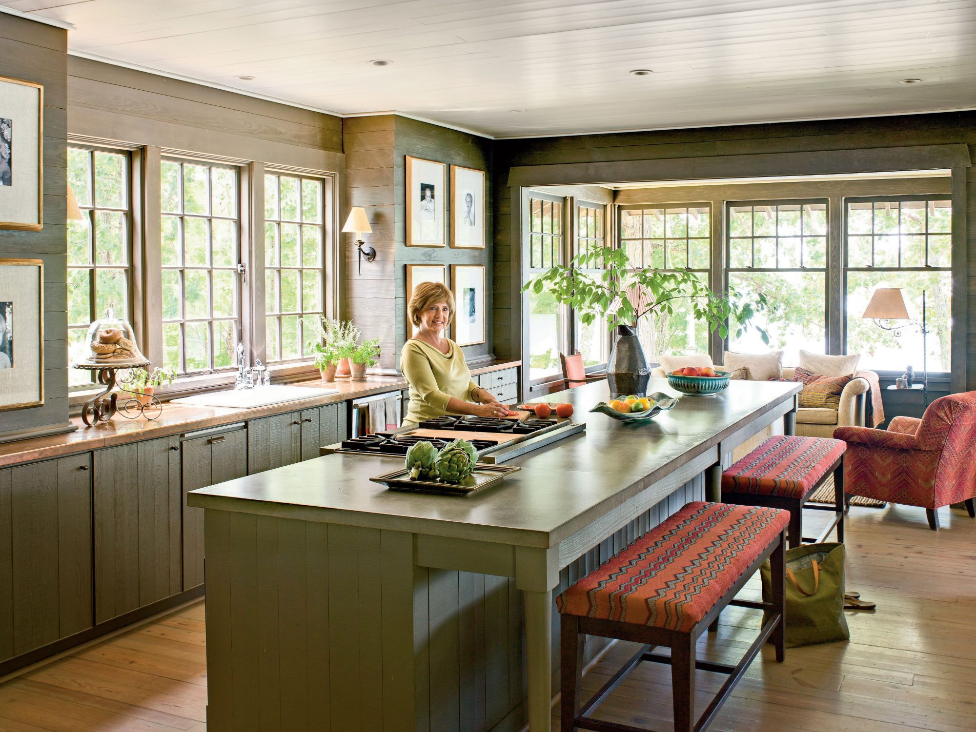Naturally Inspired Georgia Lake House Southern Living