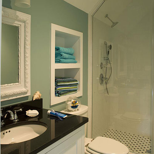 Create an Alcove for Storage