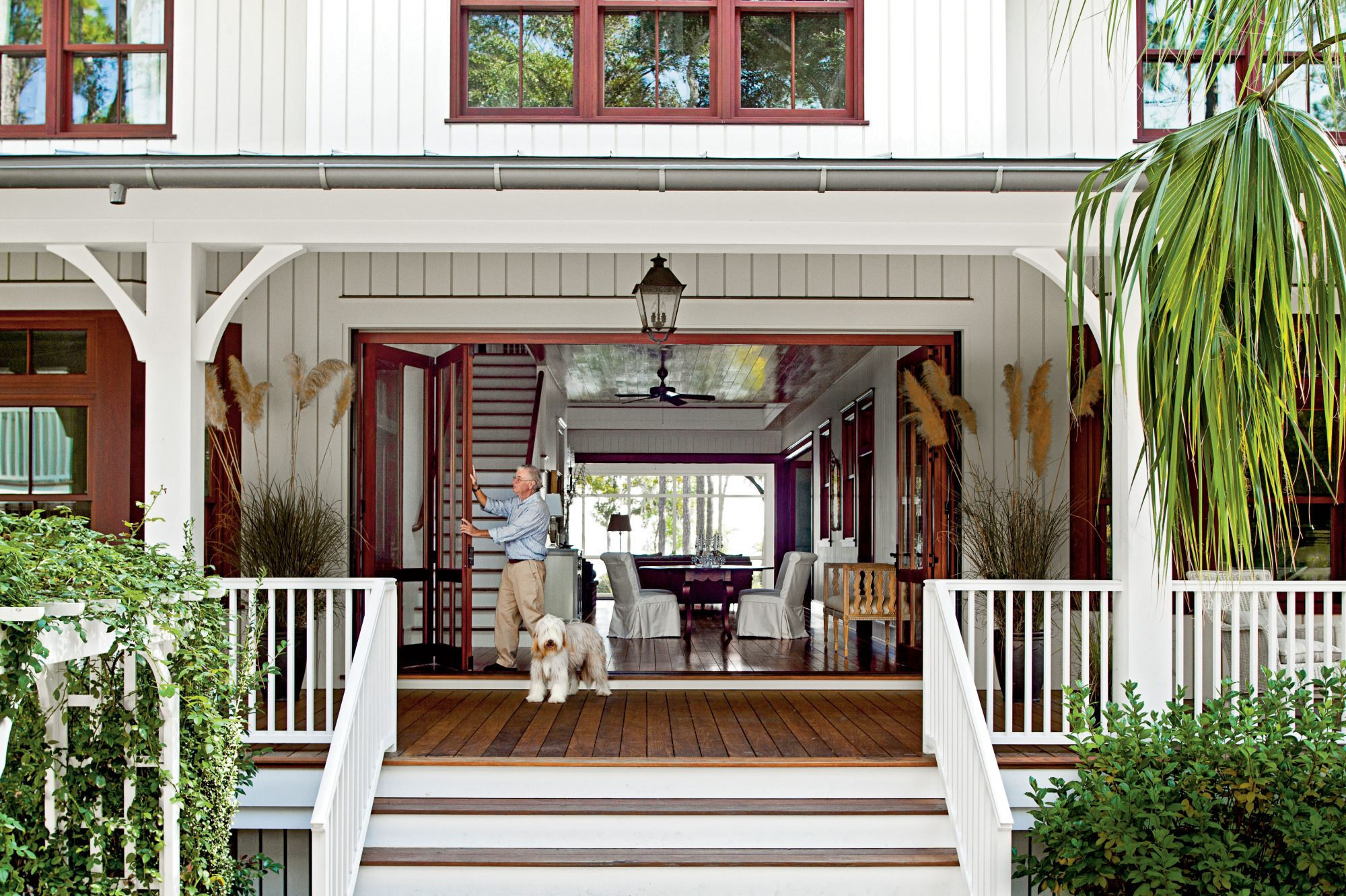 Lowcountry style house southern living for House plans com classic dog trot style