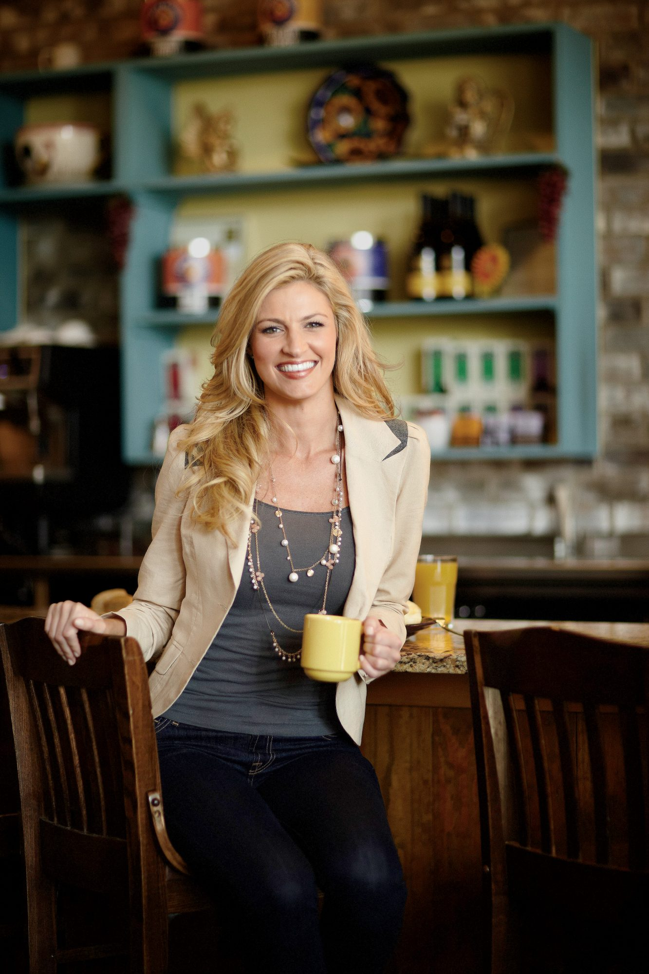 Dishing with Erin Andrews