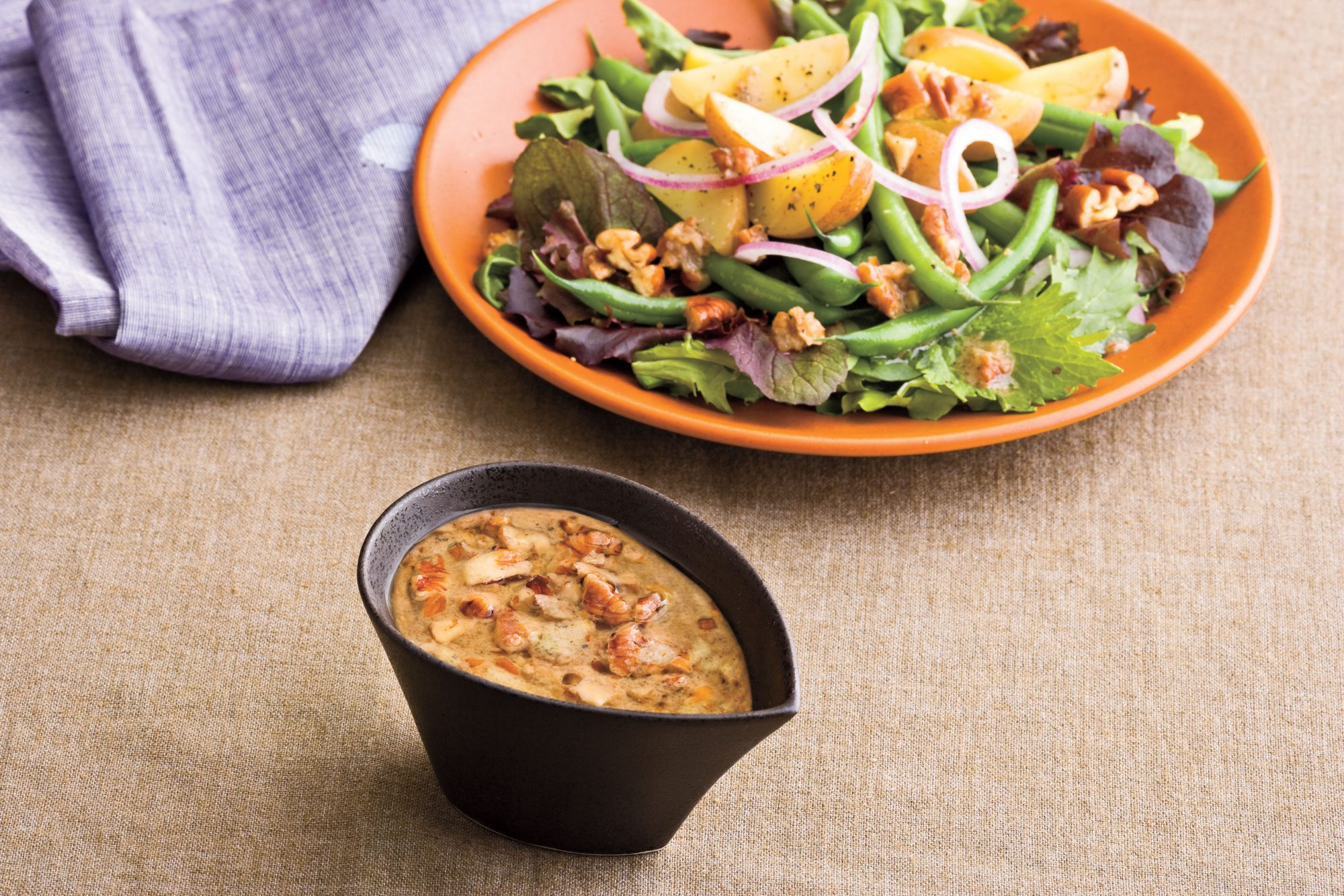 Warm Pecan Vinaigrette