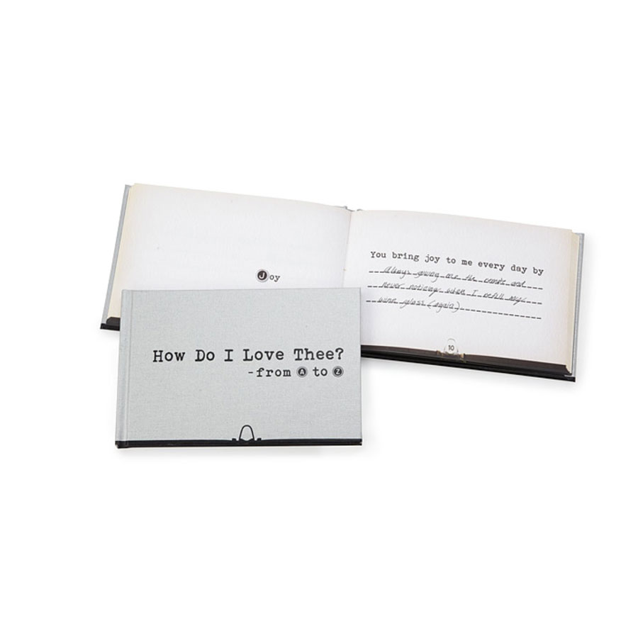How Do I Love Thee Book
