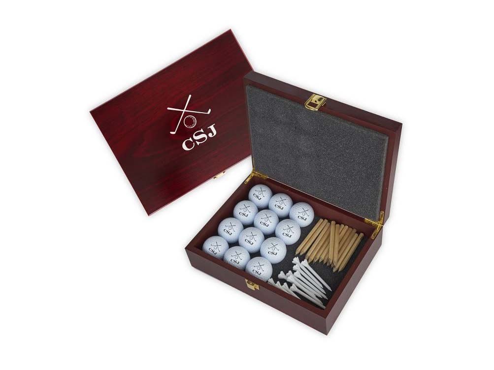Personalized Golf Ball Gift Set