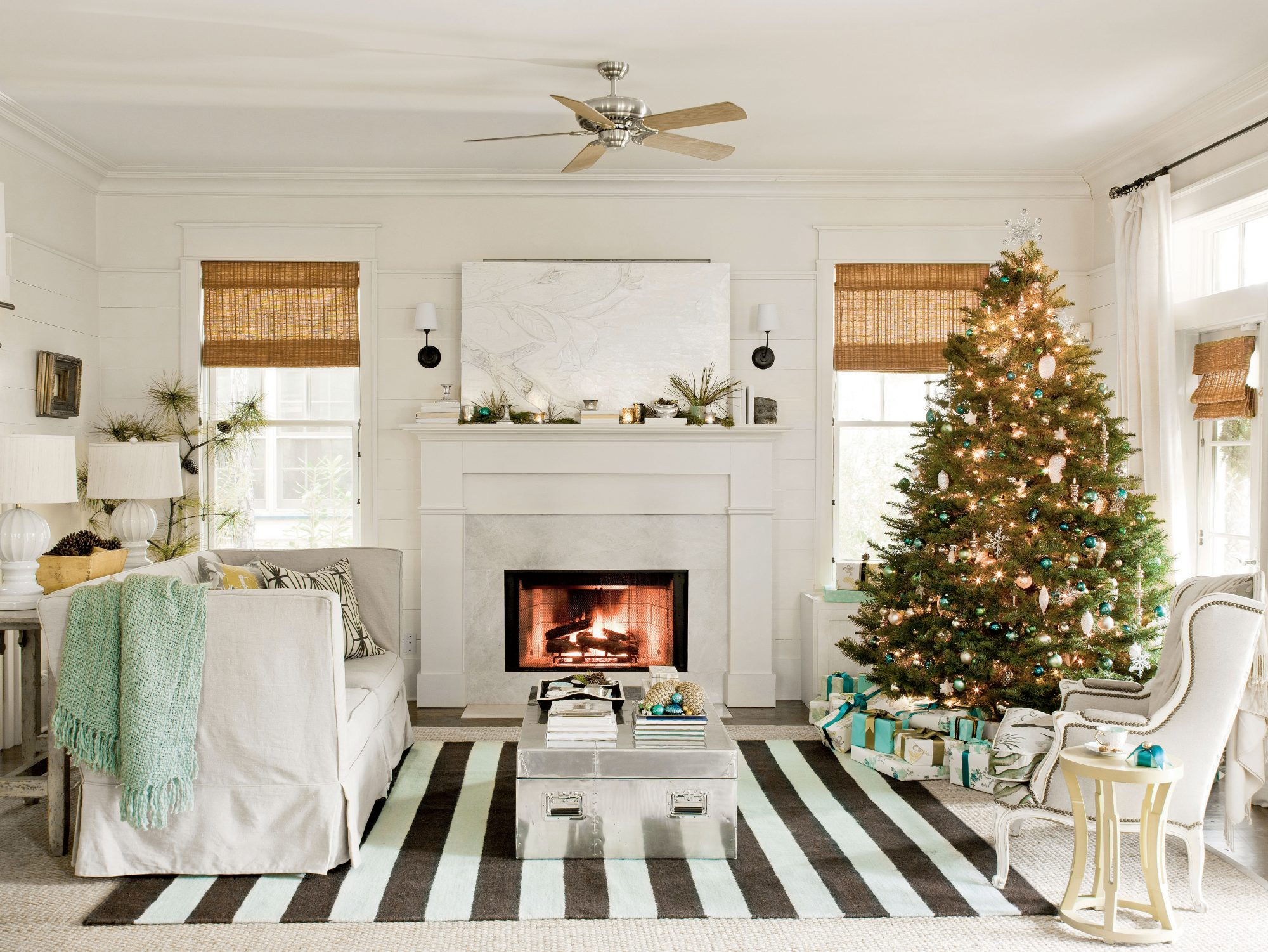 Festive Seaside Cottage