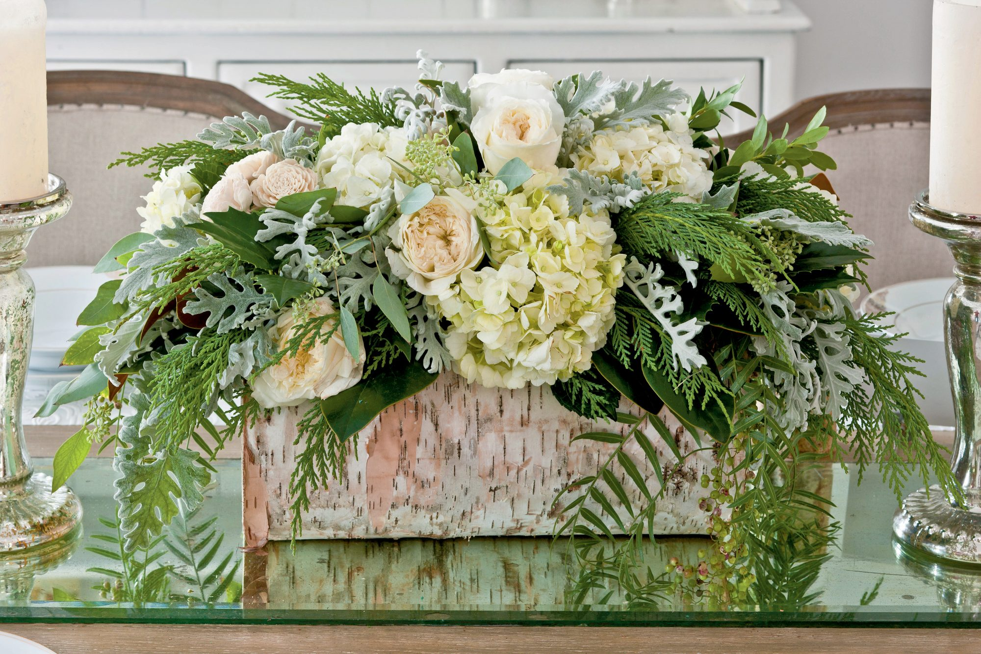 Earthy Centerpiece
