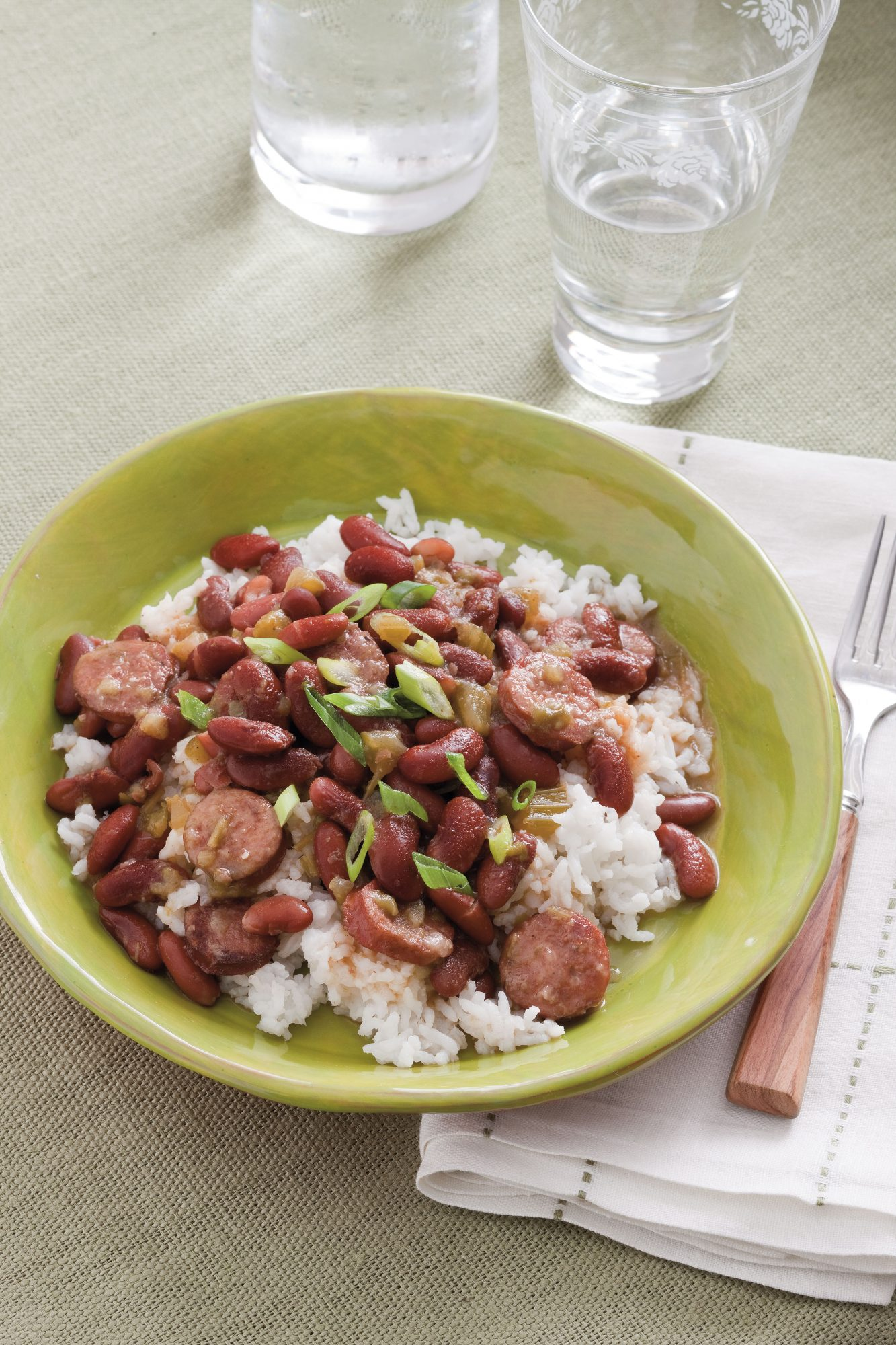 Stovetop Red Beans and Rice