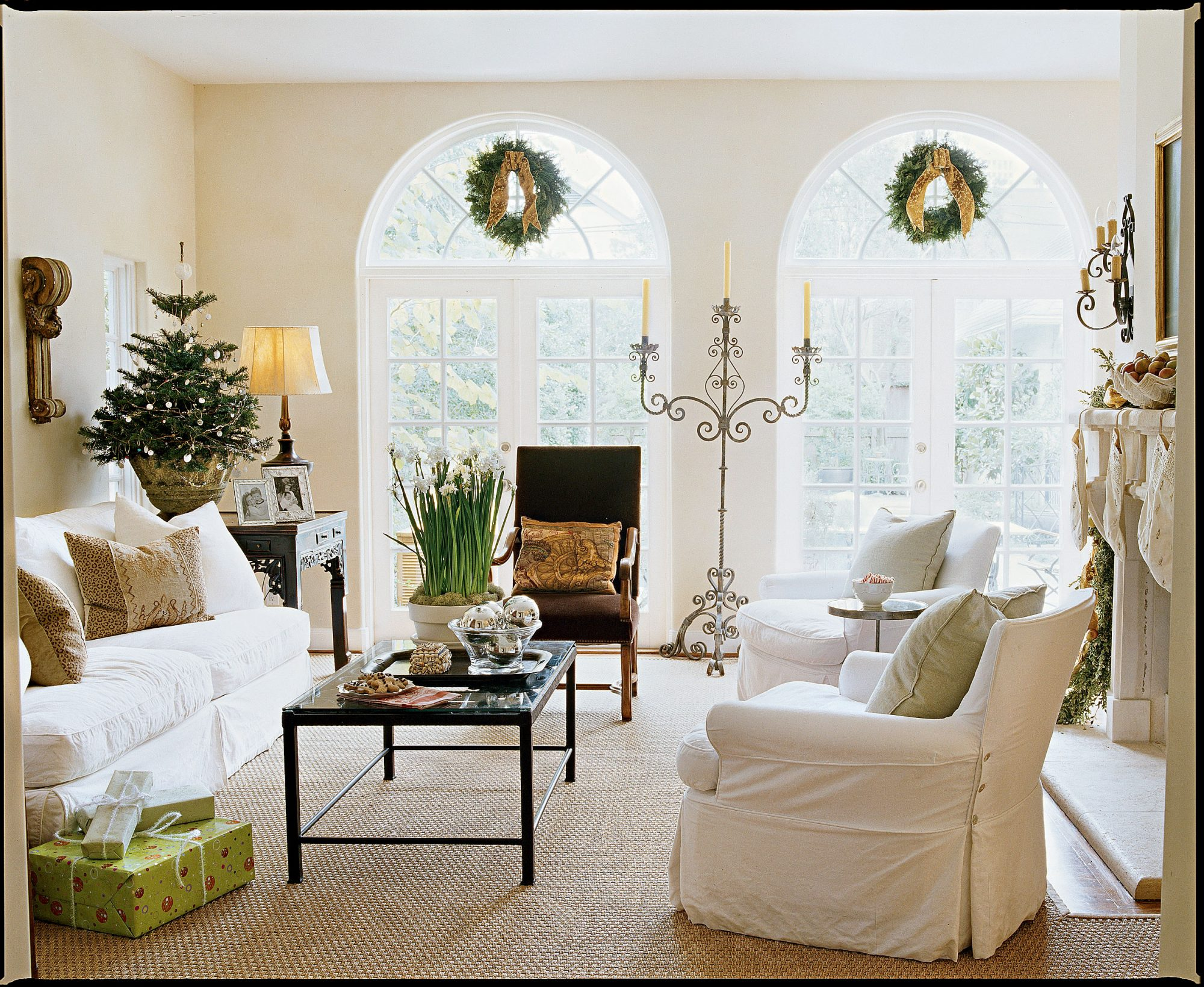Sophisticated Family Room