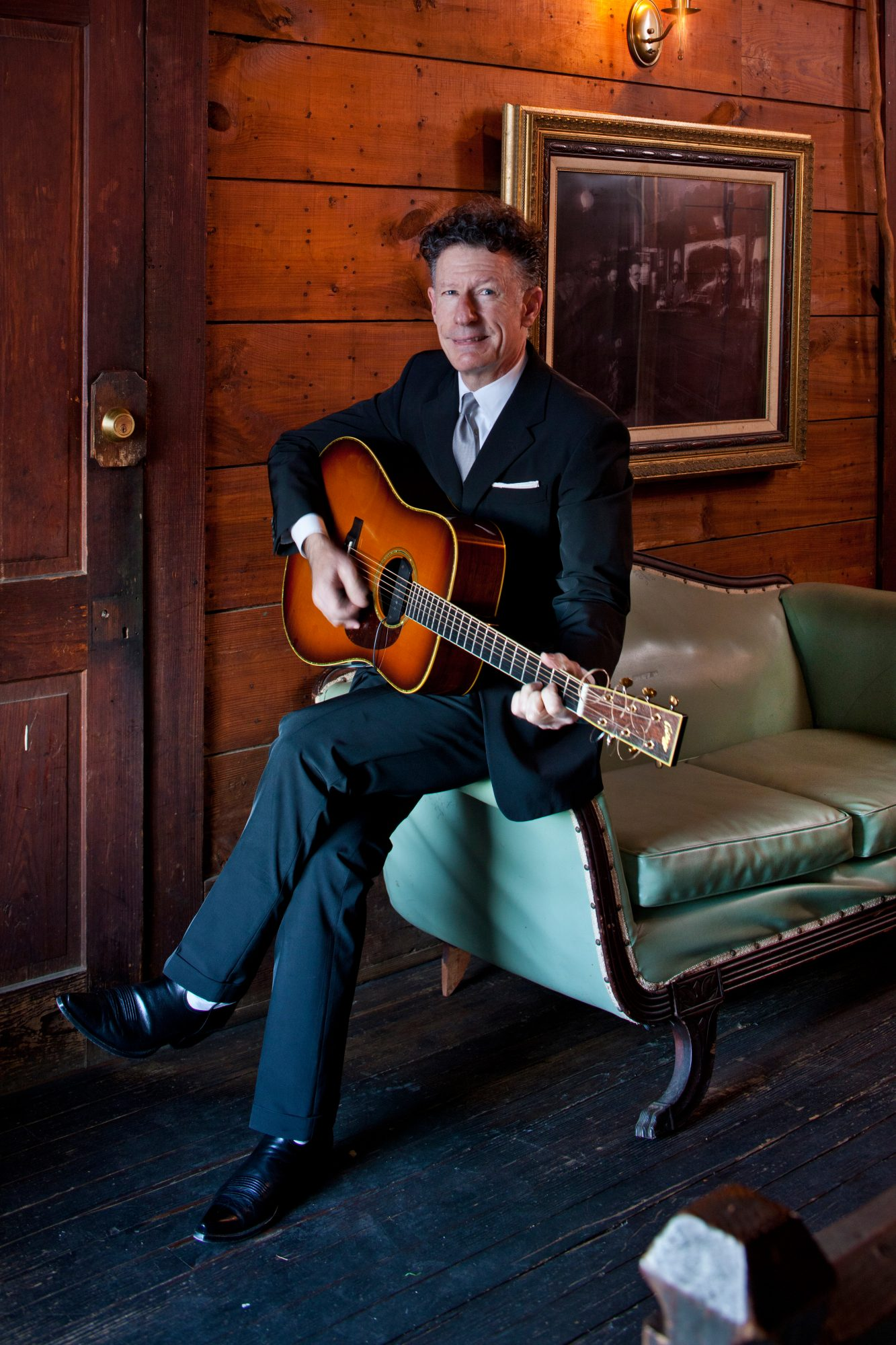 Dishing with Lyle Lovett