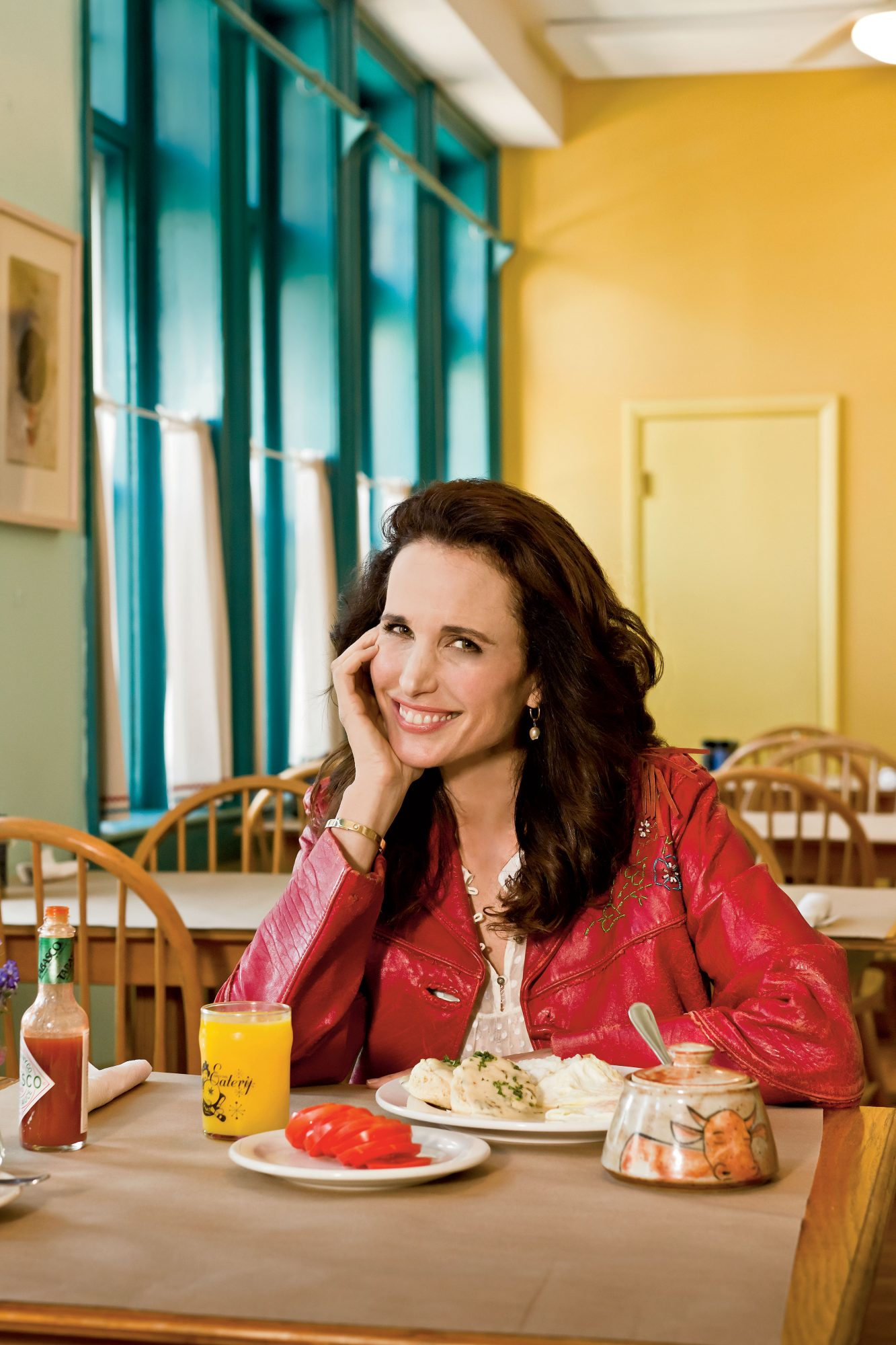 Dishing with Andie MacDowell