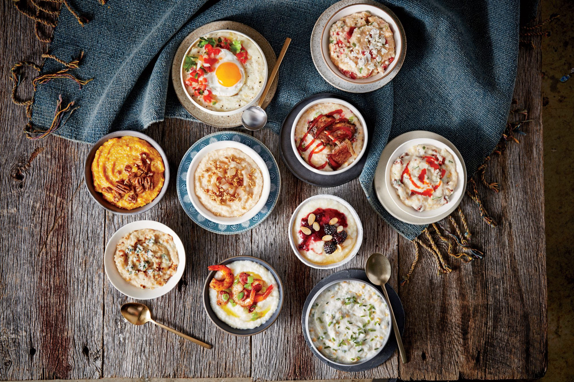 Hatch Chile Grits Breakfast Bowl Recipe