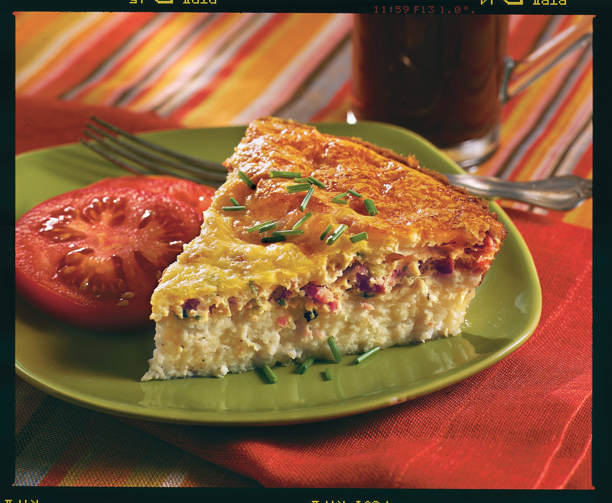 Brunch for a Crowd Savory Ham and Swiss Breakfast Pie