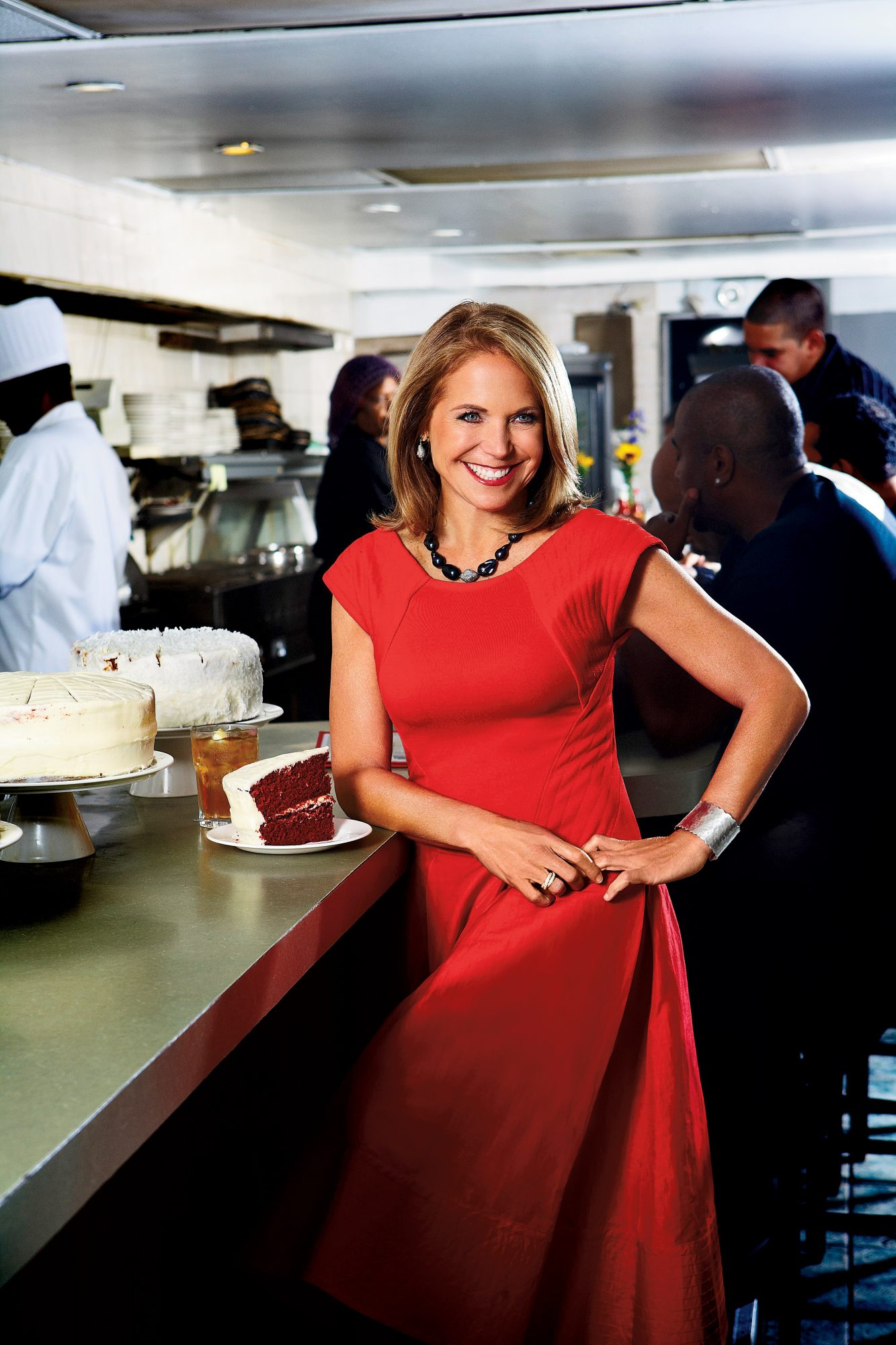 Dishing with Katie Couric