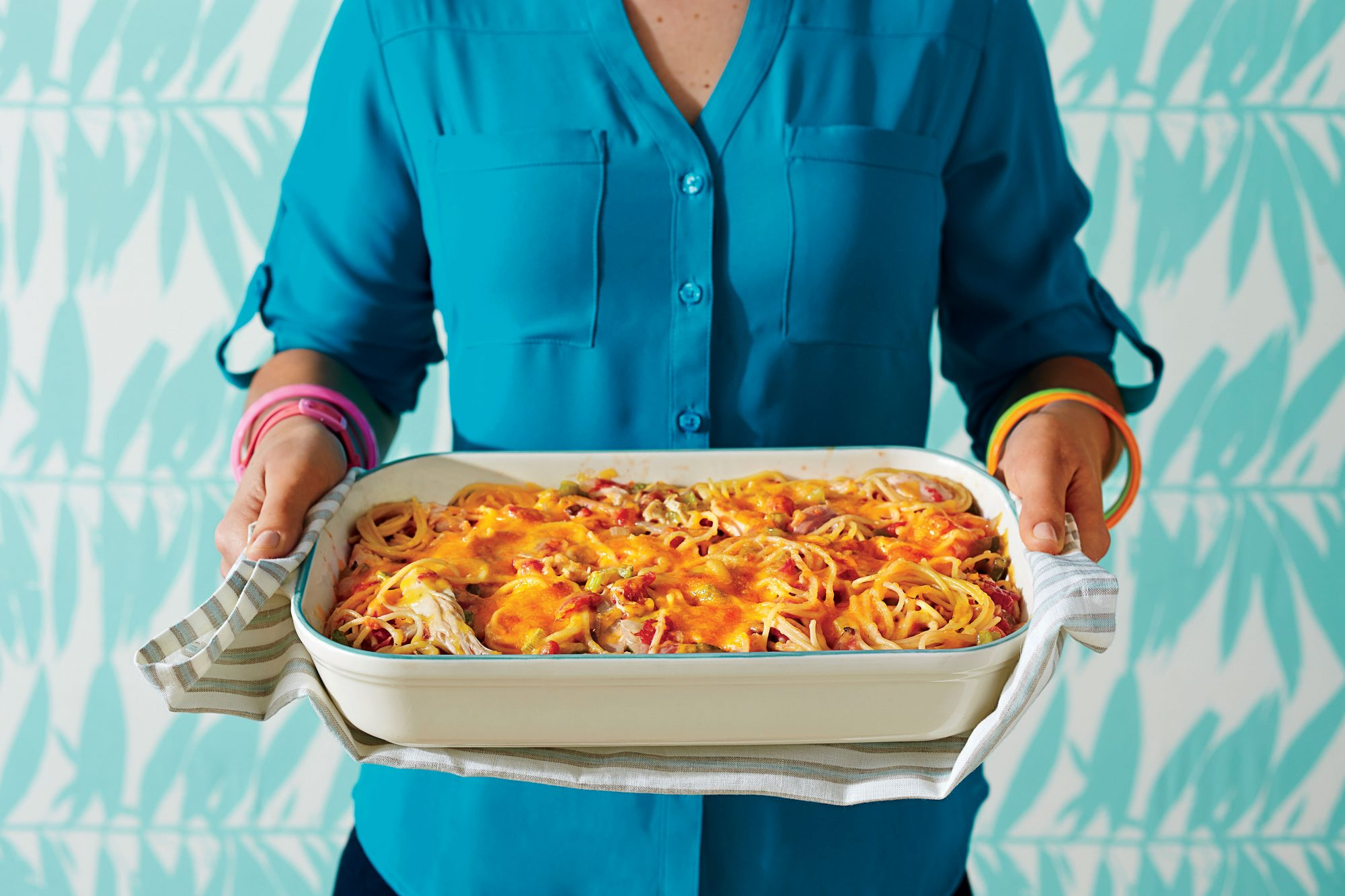 Crack Chicken Spaghetti Bake is the Weeknight Warrior You Need