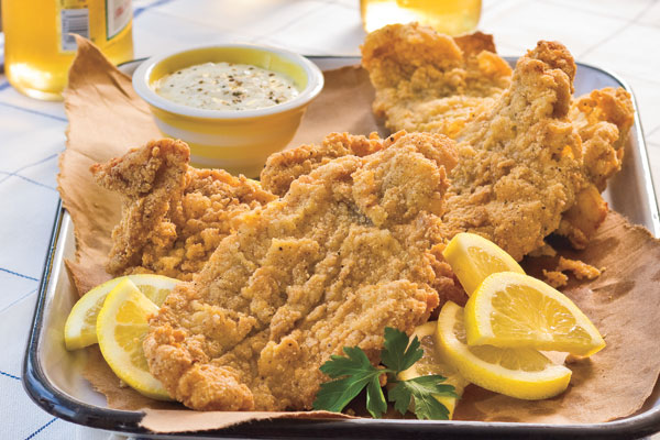 Classic Fried Catfish Recipe, Photo by Beth Dreiling Hontzas