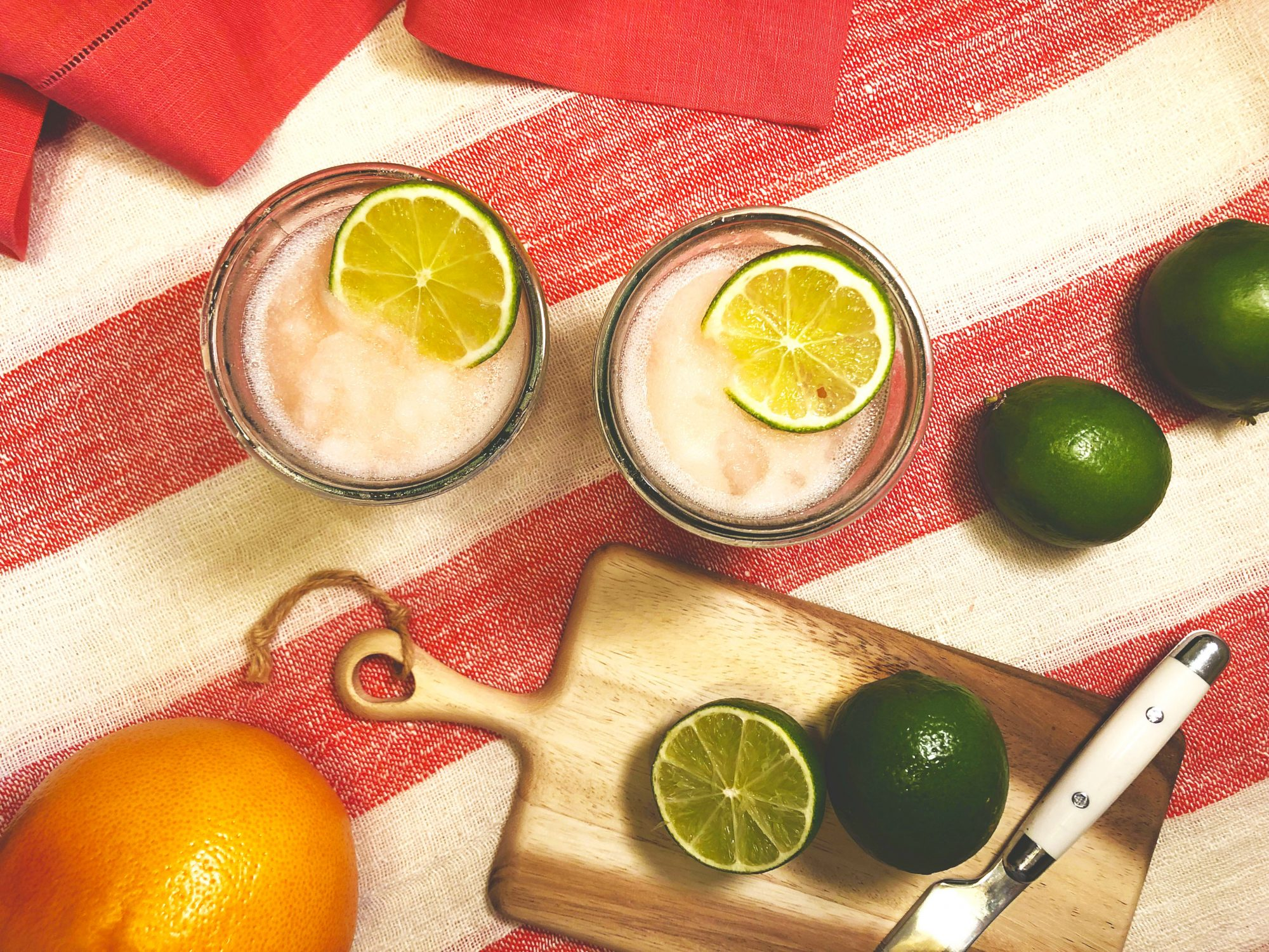 Grapefruit Gin Slush
