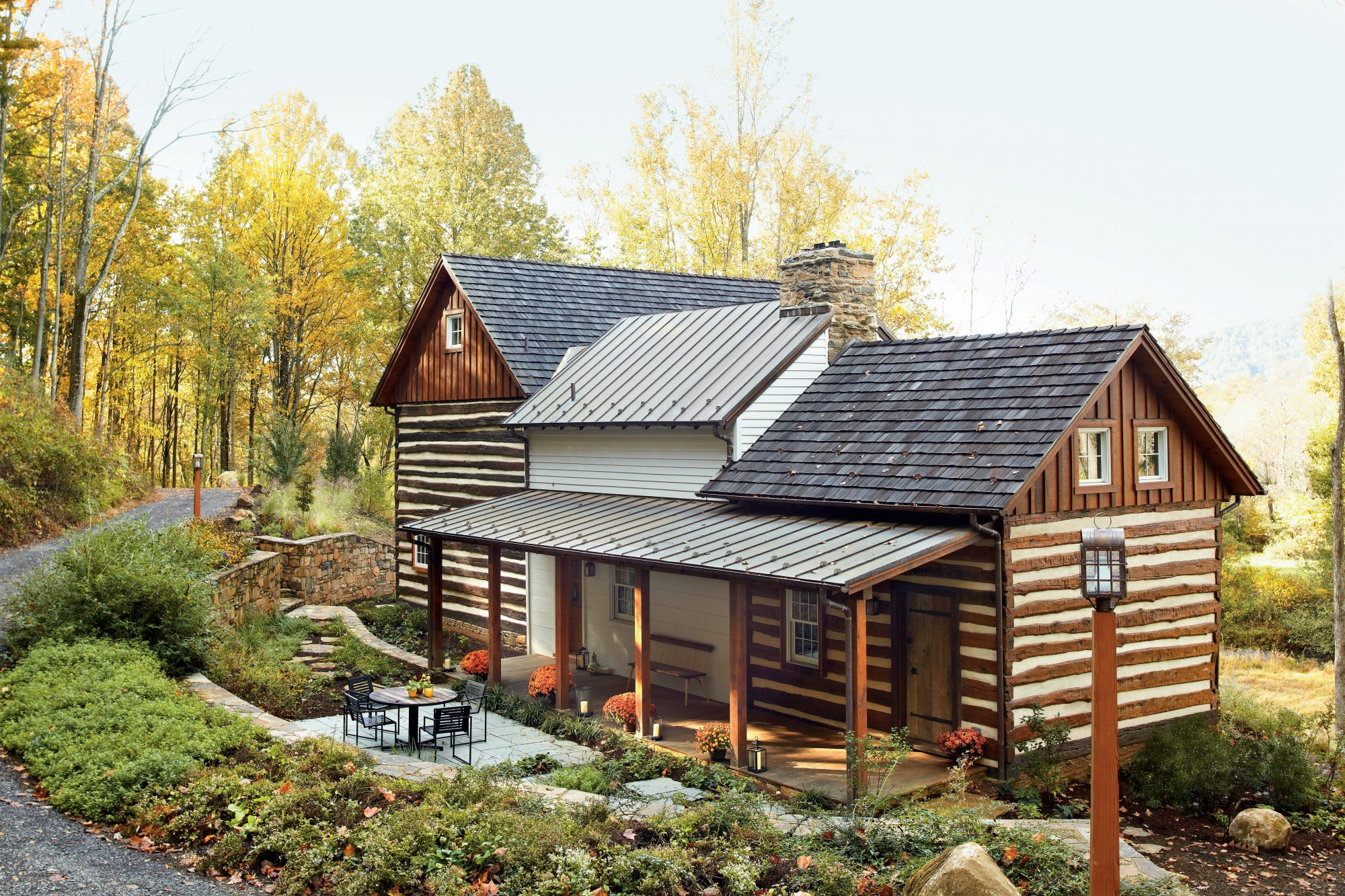 Historic Log Cabin Renovation Southern Living