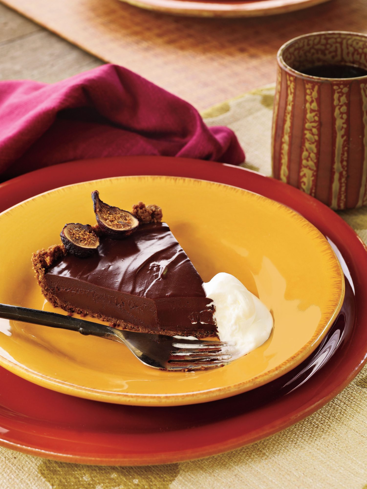 Fall Recipes: Rich Chocolate Tart