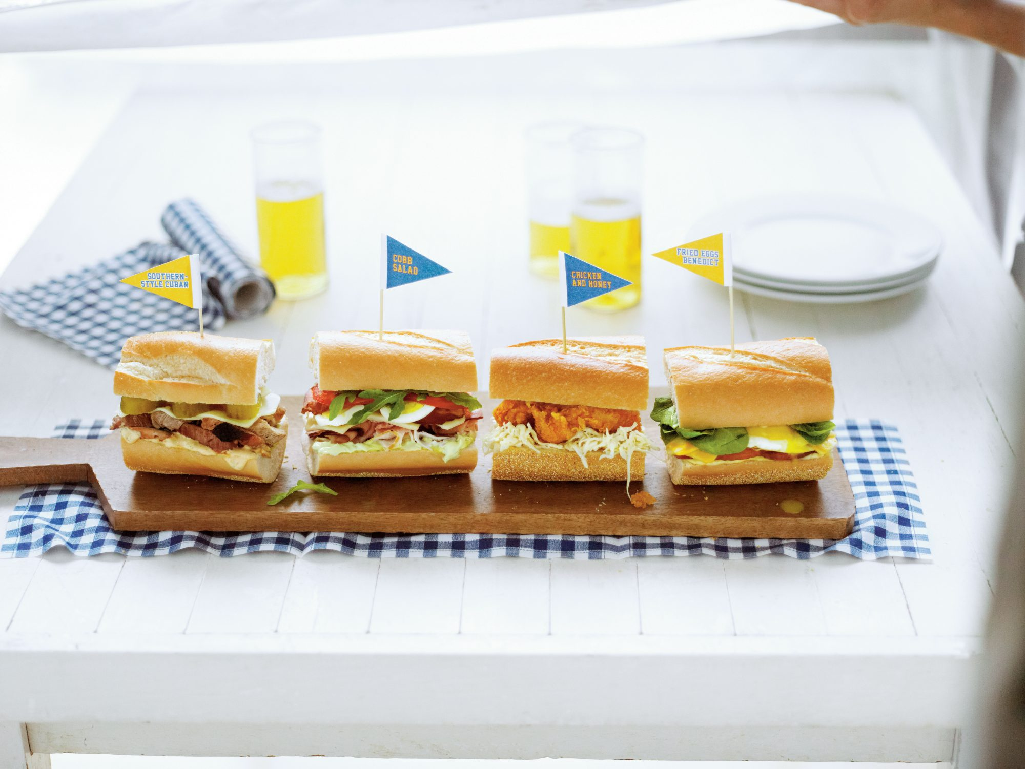 Chicken & Honey Sandwiches