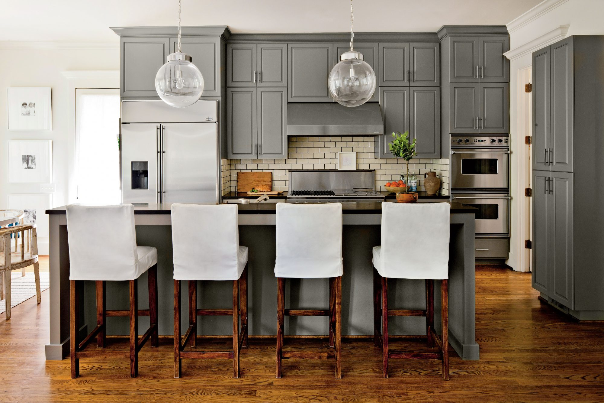 Deep Gray Kitchen