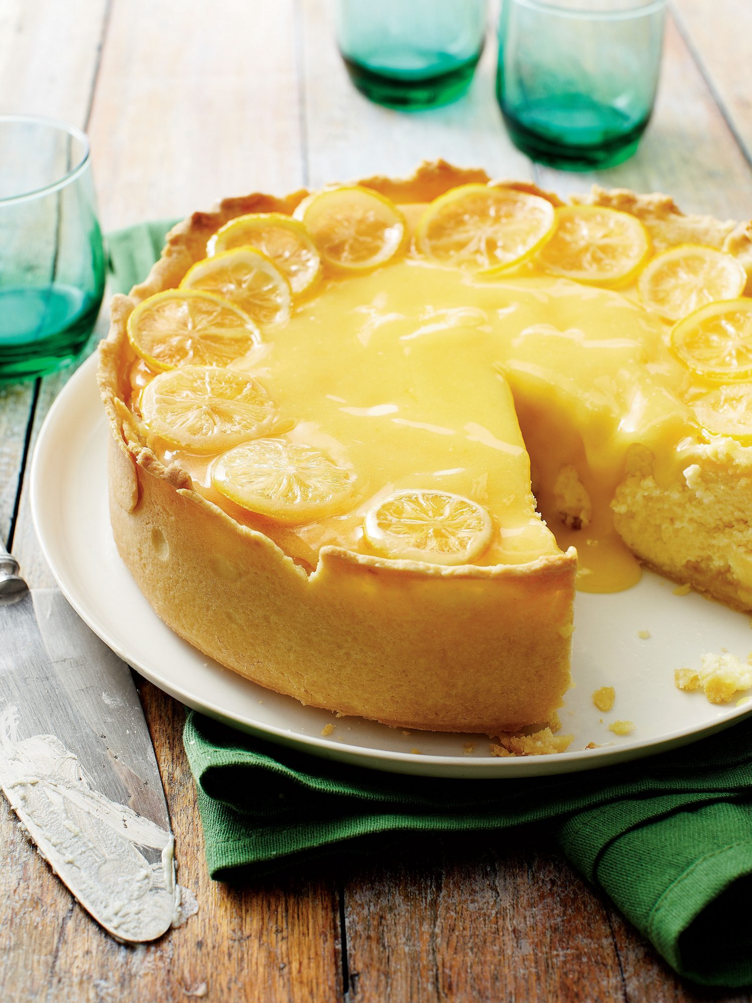 Lemon Curd Cake Recipe Southern Living
