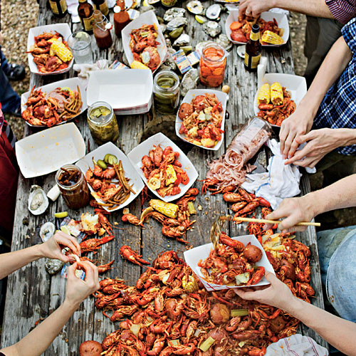 when is crawfish season  southern living free cookout clip art borders free cookout clipart images