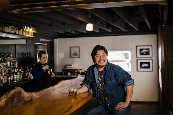 Chef Edward Lee. Photo by Robbie Caponetto