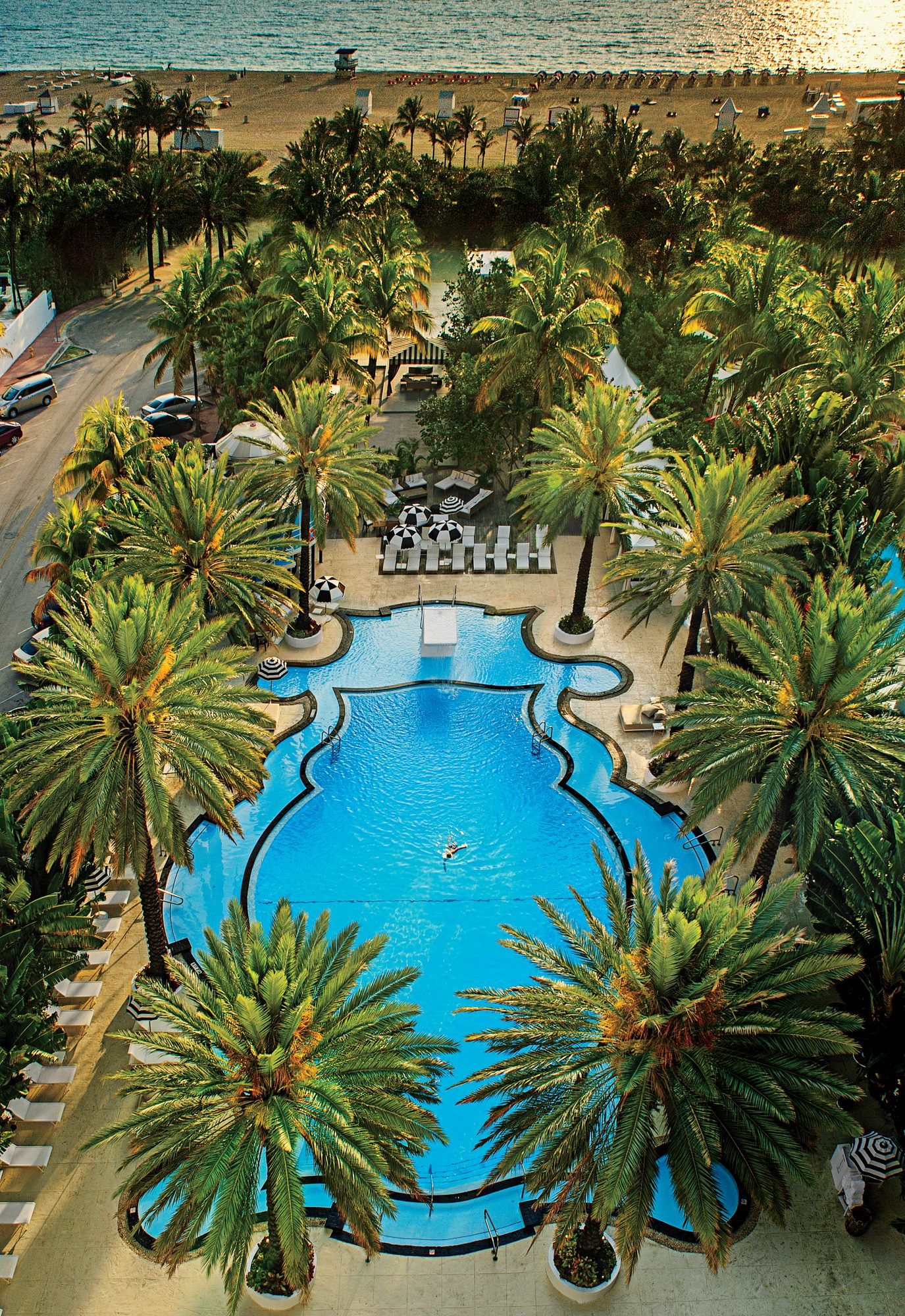 The Raleigh Hotel Pool