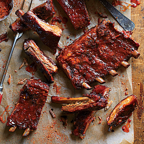 Sweet, Smoky Ribs