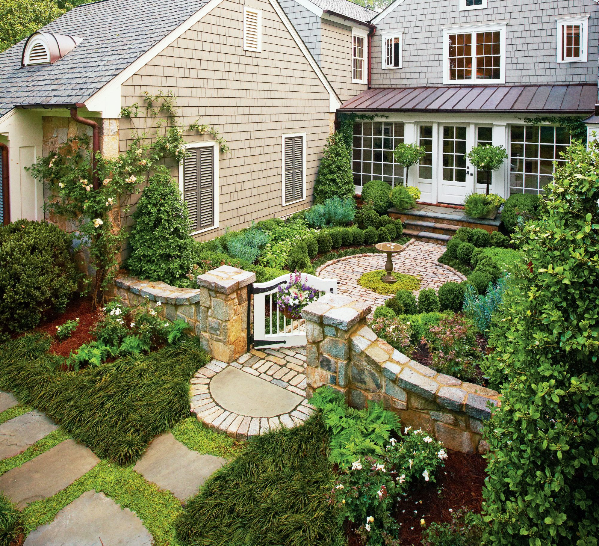 Cottage Garden Courtyard