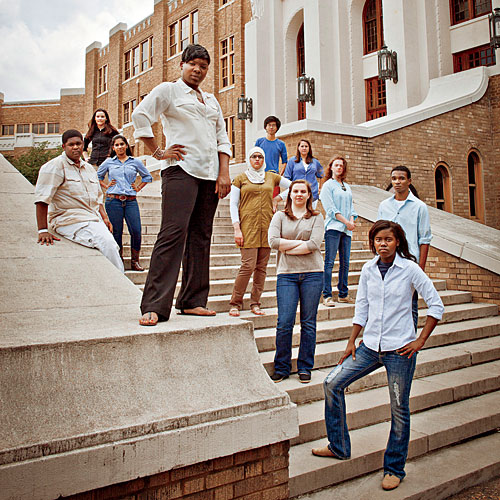 The Students of Little Rock Central High