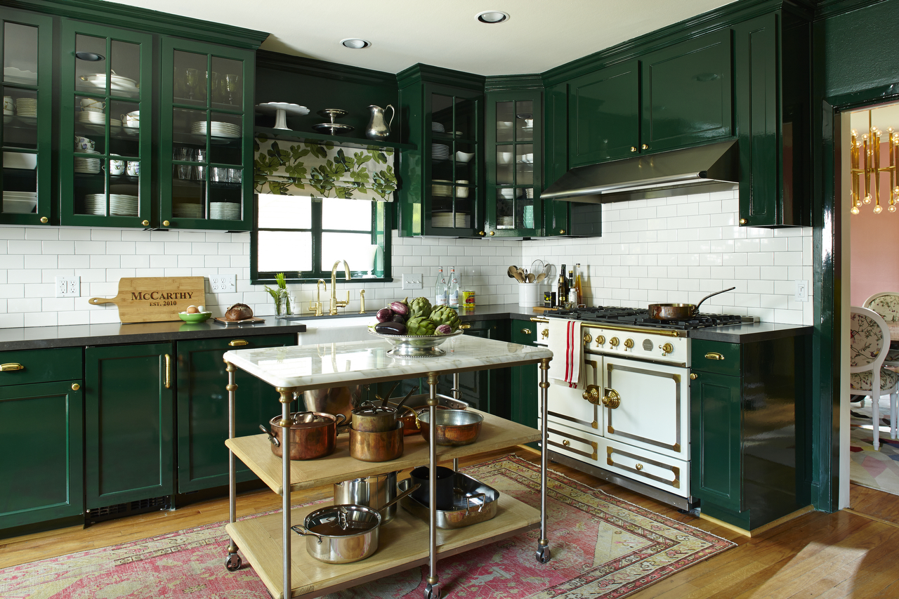 steele this! the industrial kitchen island - southern living