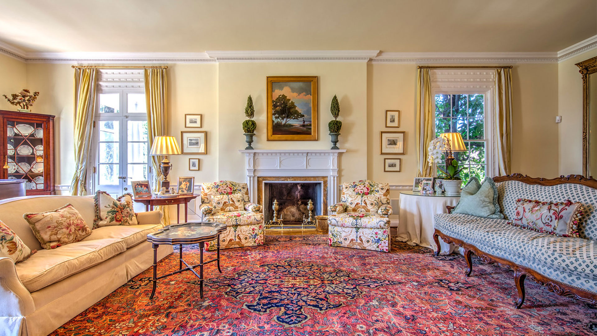 Spotswood Hall Atlanta Living Room