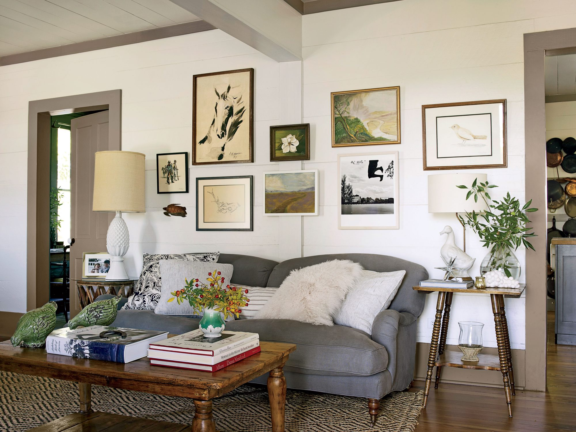 The Living Room with Clunky Details Reveal