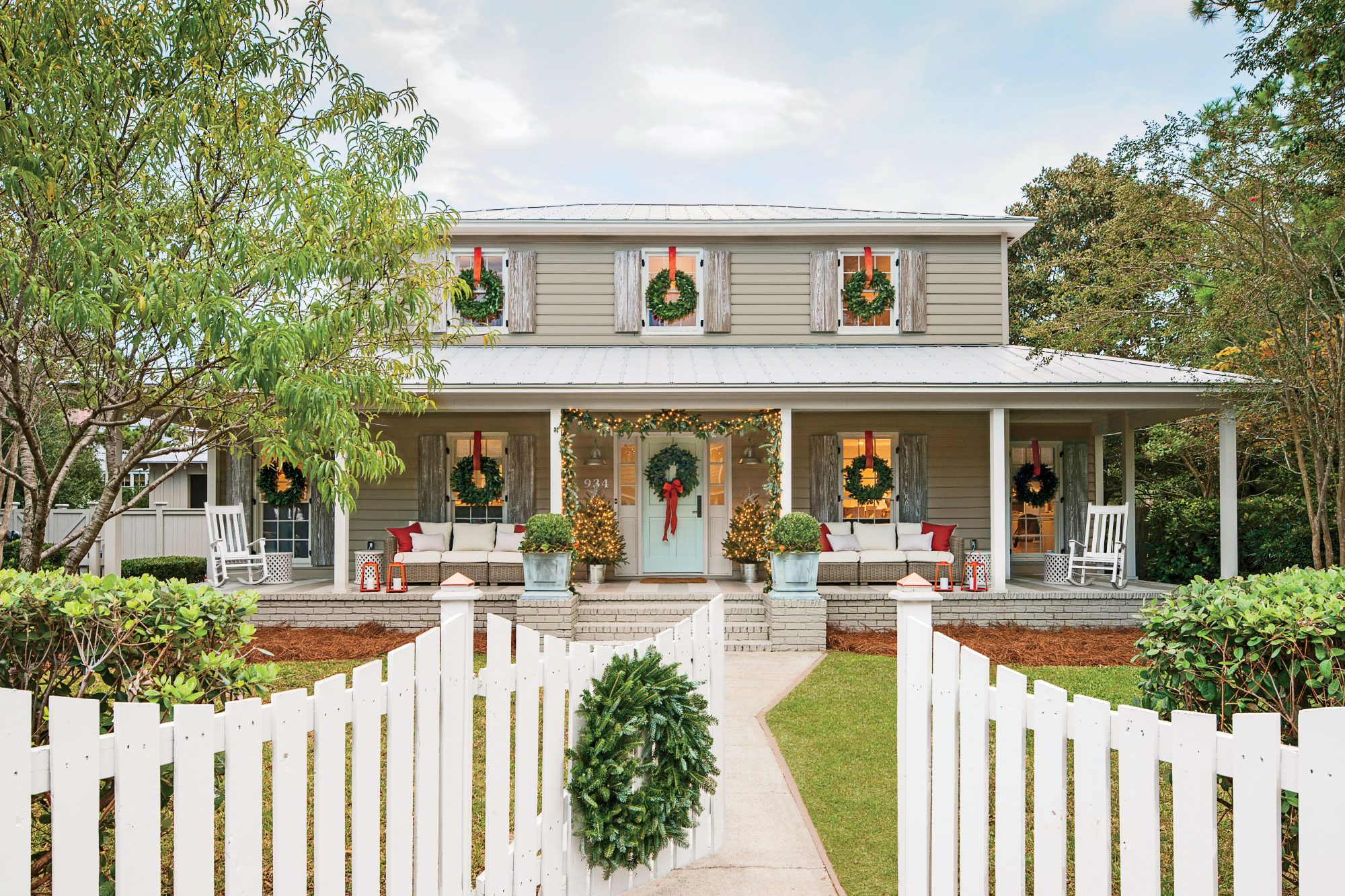 south carolina colonial - Colonial Christmas Decor