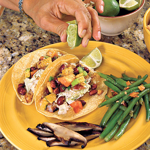 Easy Weeknight Grilling Recipes: Shredded Grilled Tilapia Tacos