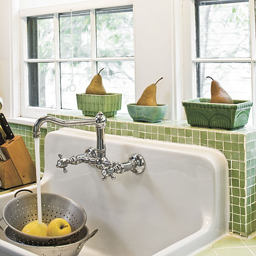 Backsplash Kitchen Sink