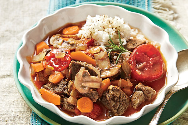 Rosemary Lamb Stew
