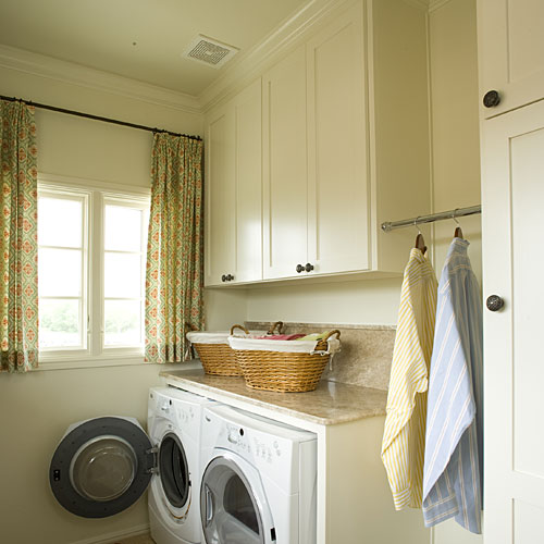 Hide Detergent and Cleaning Supplies in Your Laundry Room
