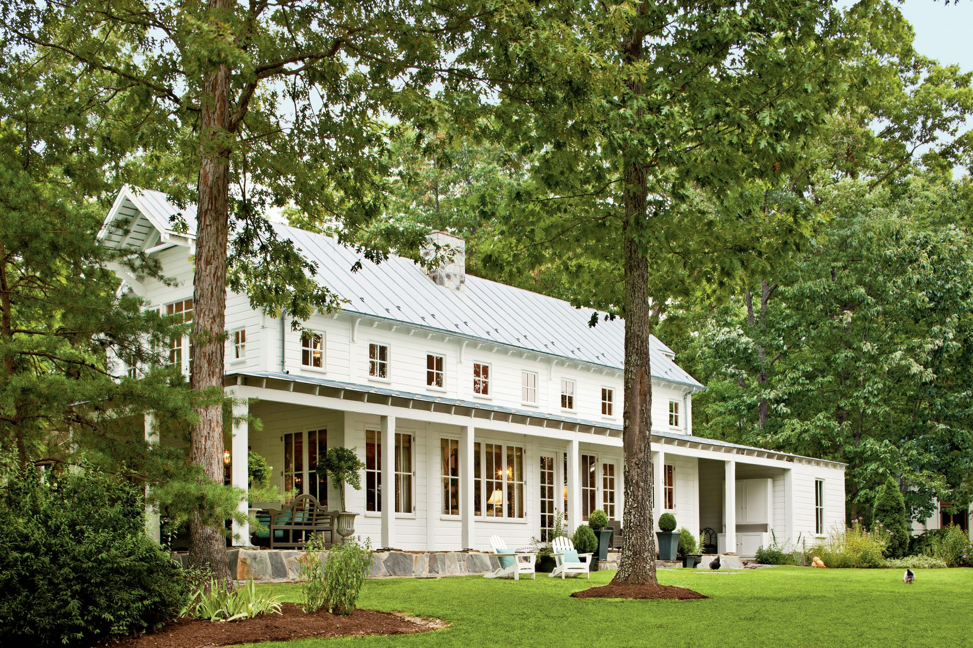 Charming home exteriors southern living for American farmhouse style