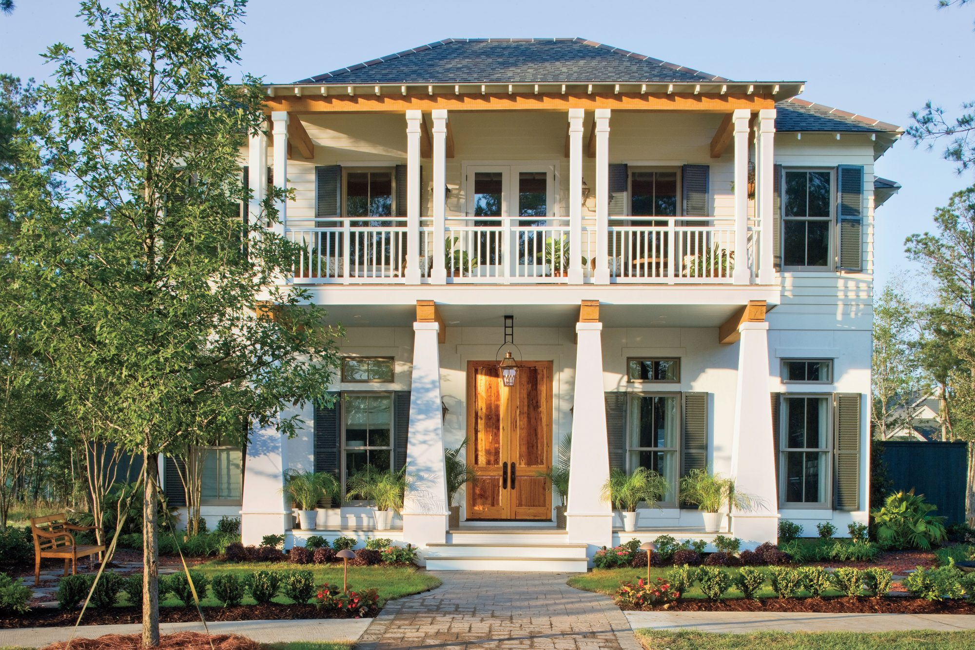 Charming home exteriors southern living for Coastal living plans