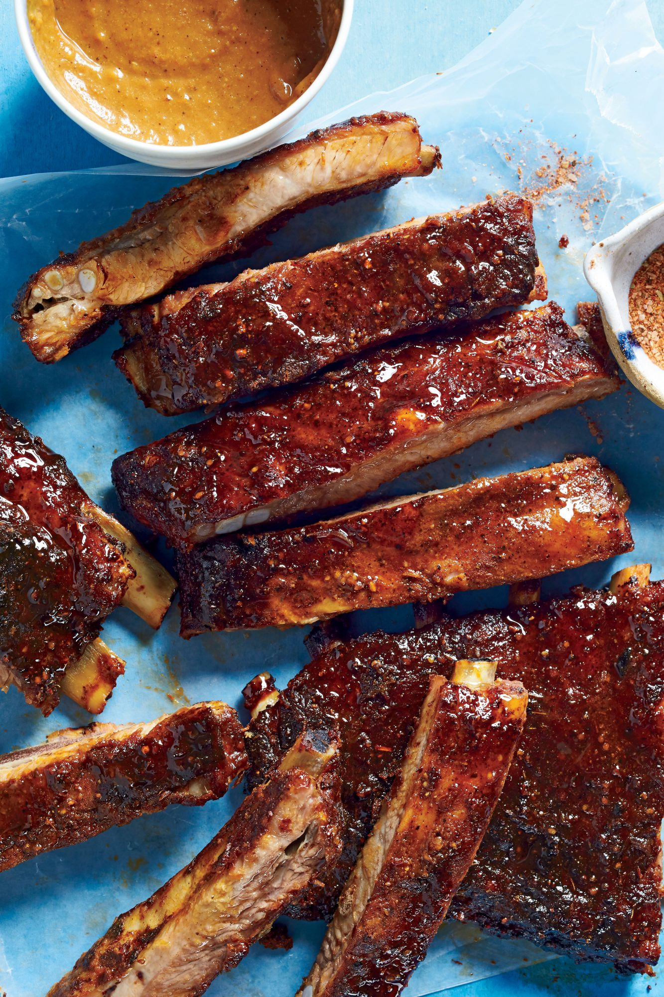 Barbecue St Louis Pork Ribs Food Network