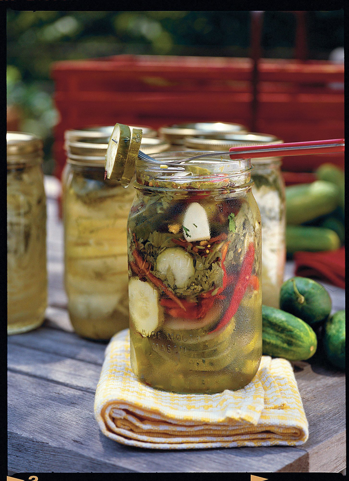 Peppery Texas Pickles