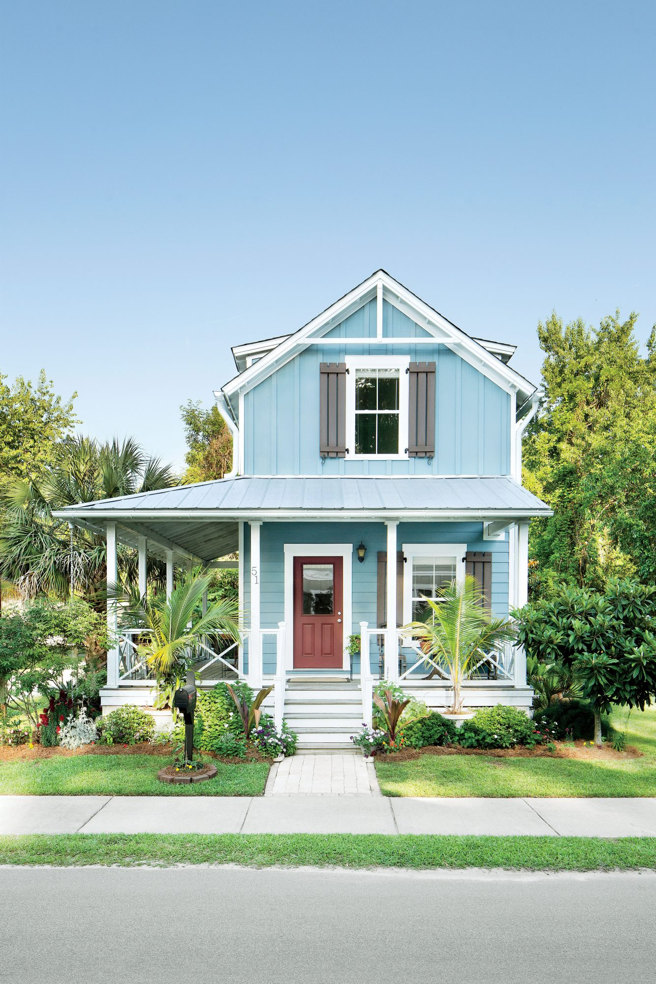 Wharf Street Community Bluffton South Carolina Blue House