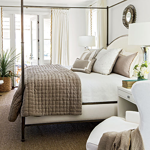 Palmetto Bluff Idea House Master Bedroom After