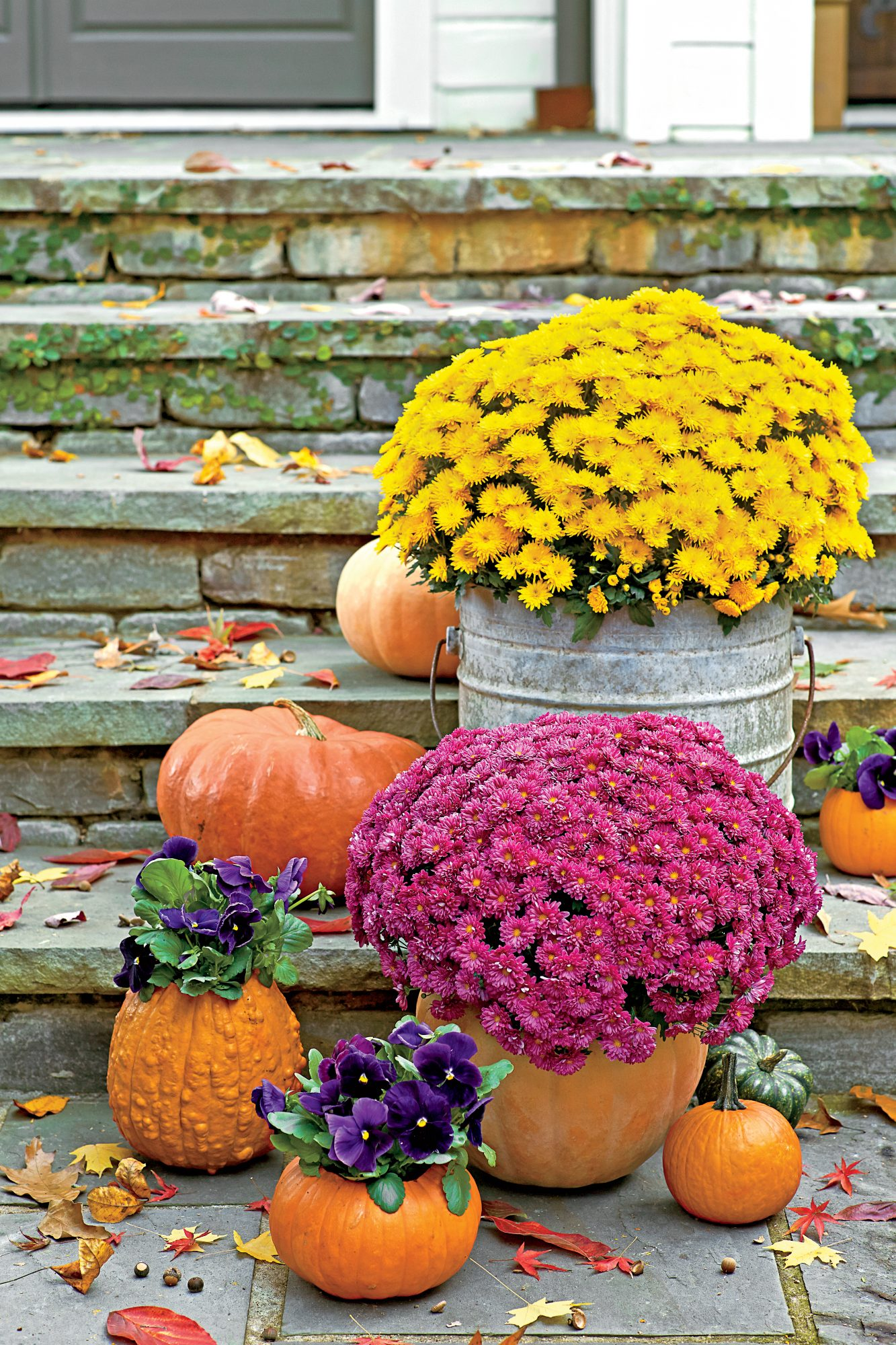 Incredible Ways To Decorate With Mums Southern Living