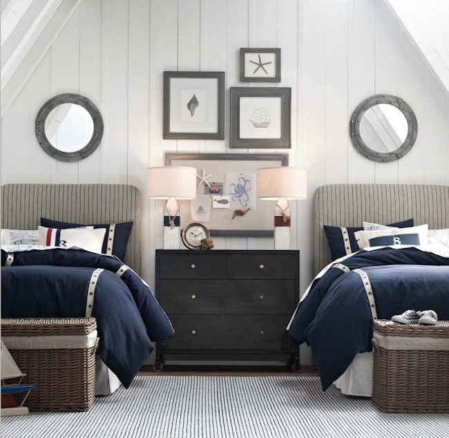 nautical themed dorm room - Dorm Design Ideas
