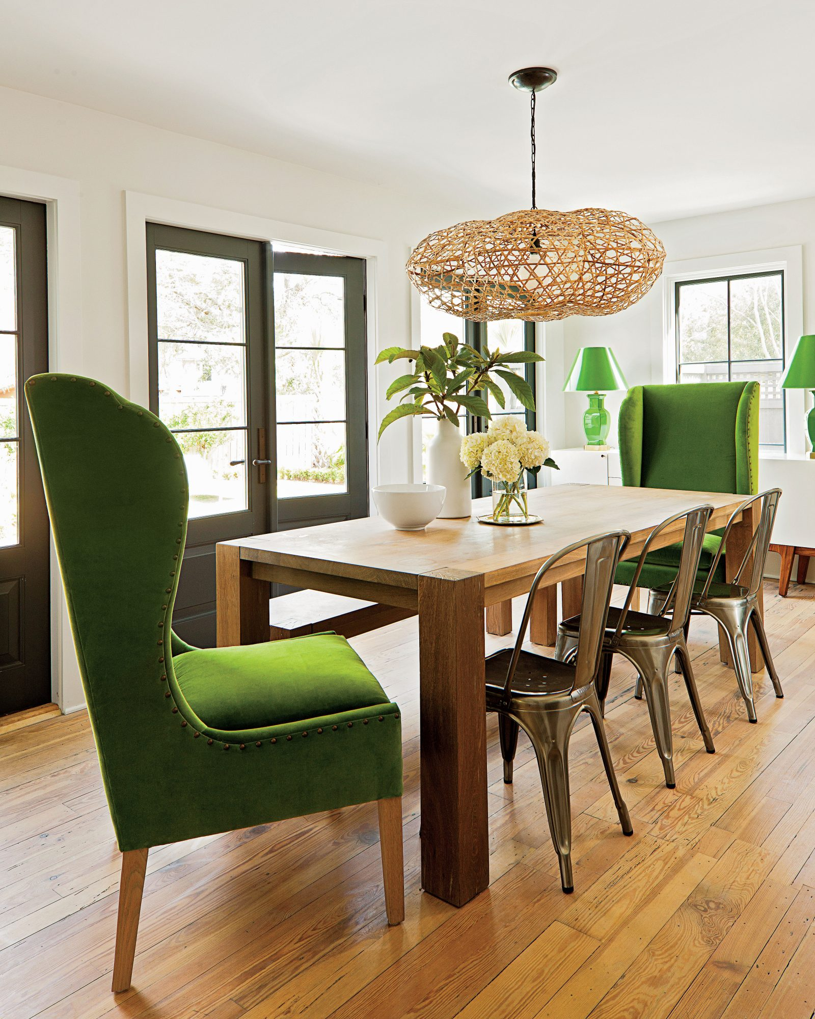 After: Rightsize Remodel Dining Room