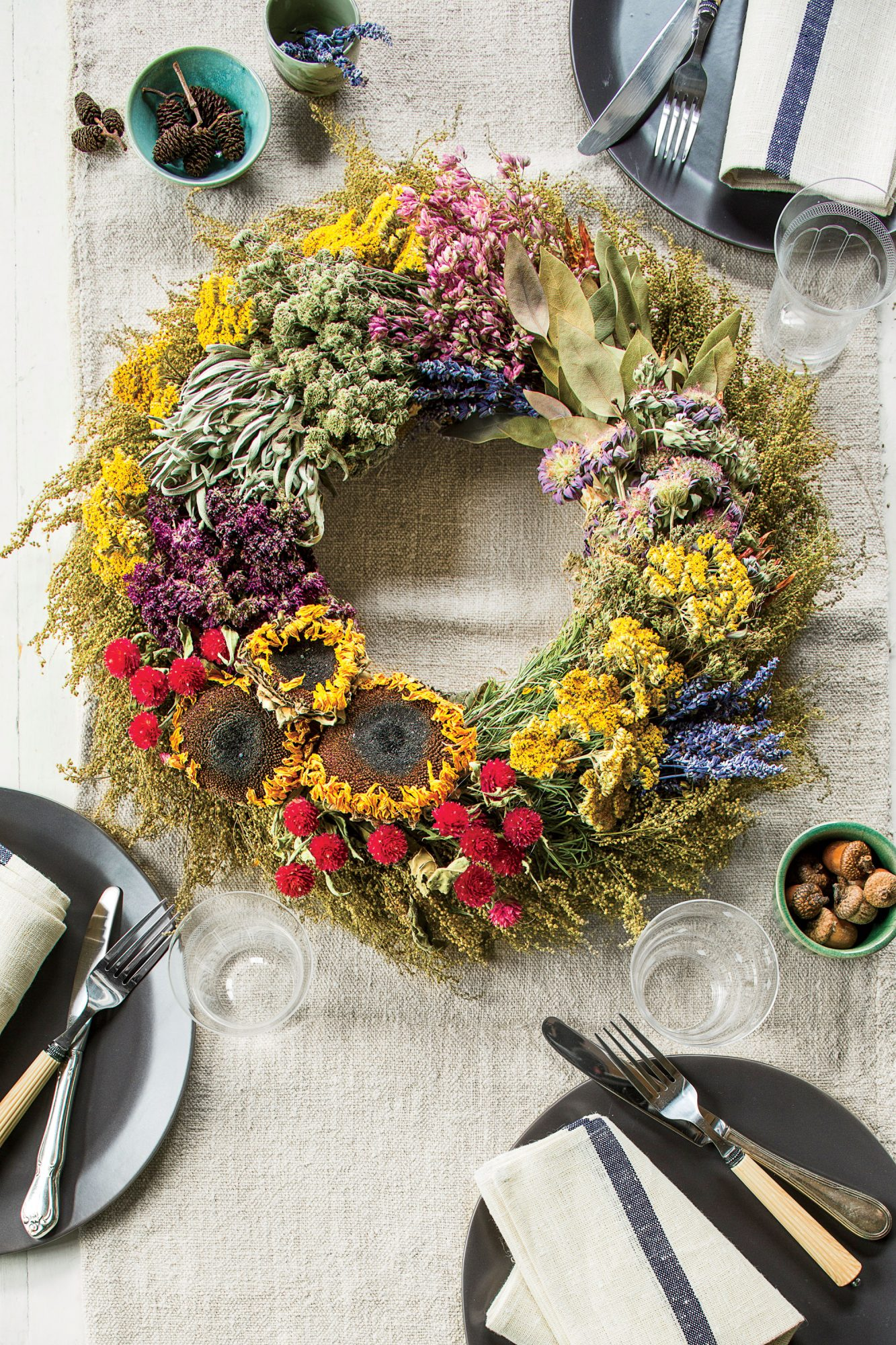 Dried Flower and Herb Wreath