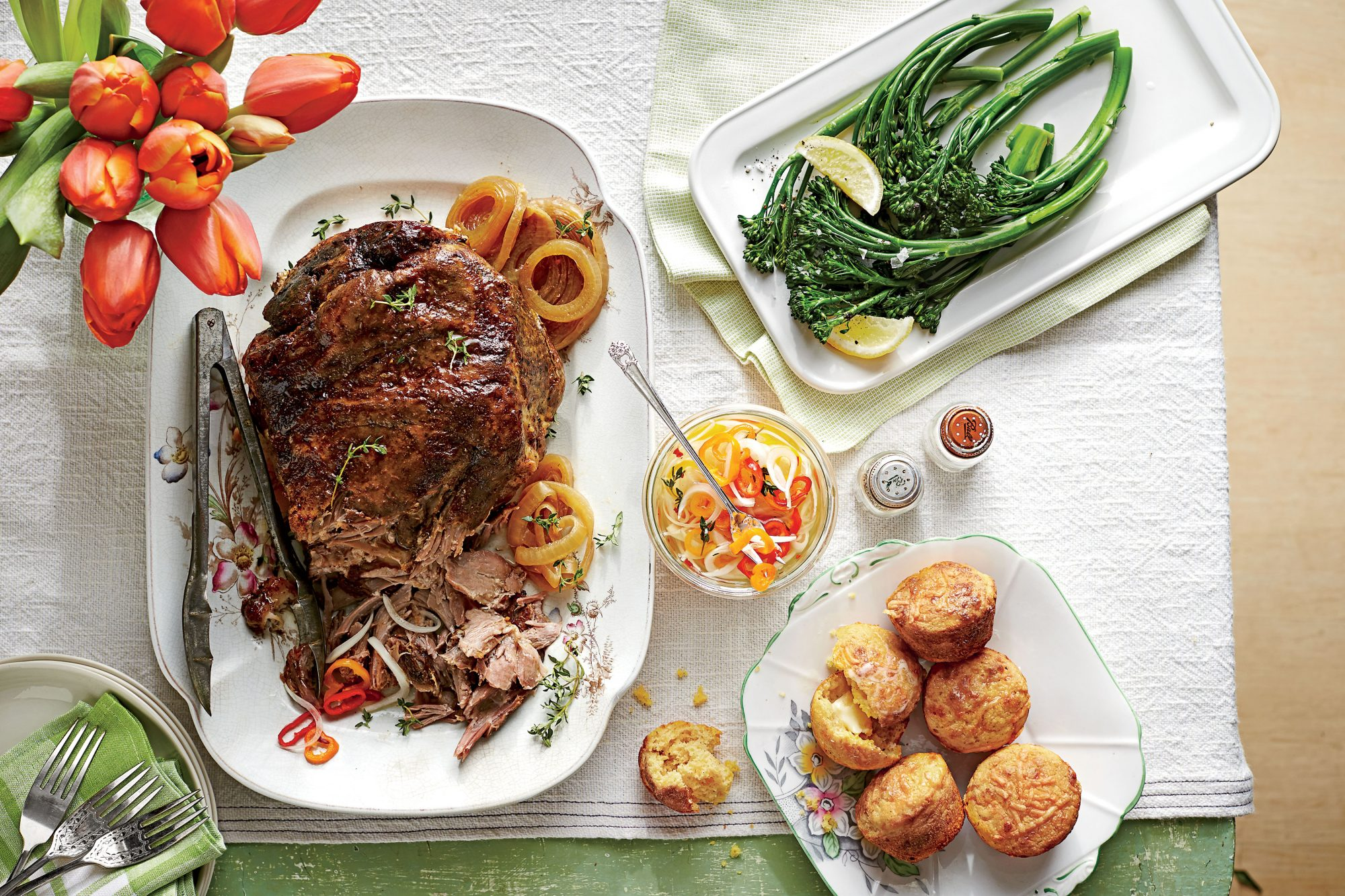 5-Ingredient Slow-Cooker Pulled Pork