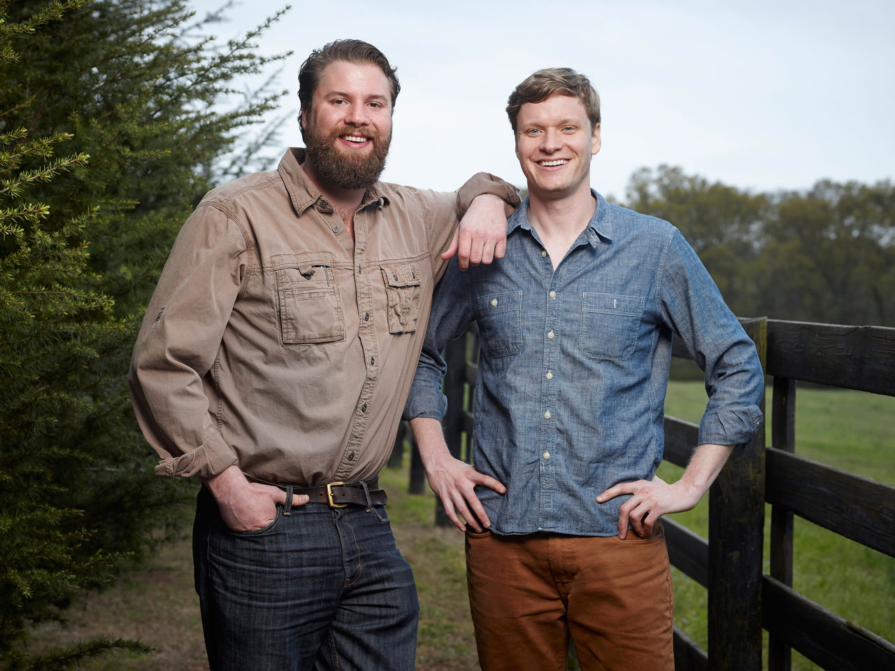 Andy and Charlie Nelson, Nelson's Green Brier Distillery